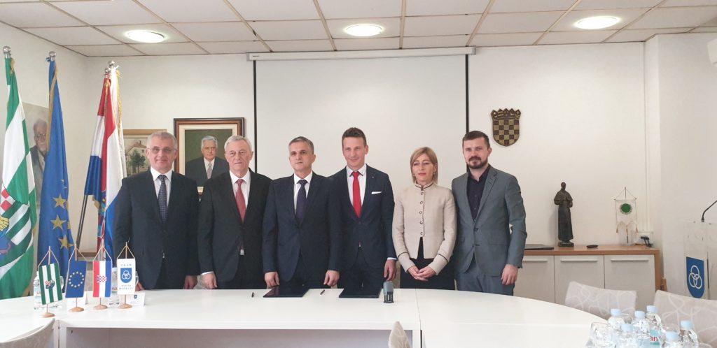 Ministar Goran Marić i gradonačelnik Dario Zurovec potpisali Ugovor o darovanju nekretnina u vlasništvu Republike Hrvatske