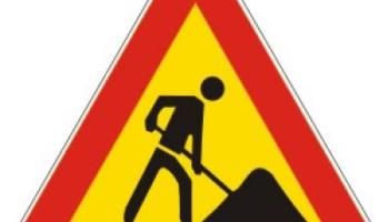 Obavijest o zatvaranju ceste u naselju Novaki