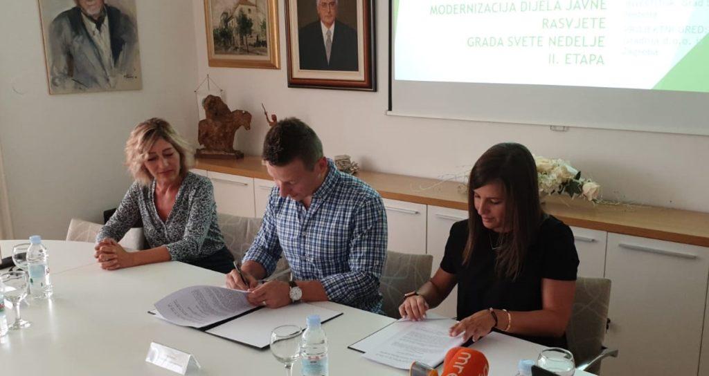 Svečani potpis Ugovora za projekt modernizacije dijela javne rasvjete – NEWLIGHT II. etapa